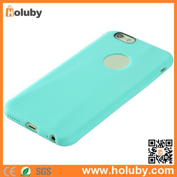 Holuby For iPhone6 Rock TPU Case, ROCK Melody Series Strip Rock Soft TPU Case for iPhone 6, Ultra Slim Rock Cover for iPhone 6