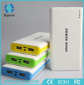Romass portable charger lithium ion 20000mah power bank for mobile