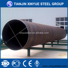 36 Inch Large Diameter Galvanized Steel Piling Pipe, AWWA C200 Spiral Welded Carbon Steel Tubes