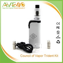 2016 Trident 60W TC mod box watt electronic cigarette factory price