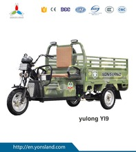 Electric cargo bicycle/tricycle tuk tuk for sale with stronger power motor