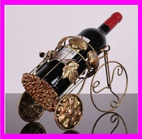 JC2586 Antique decorative metal wine holder wholesale