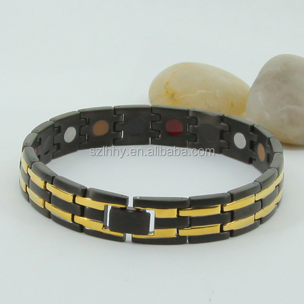 New products Durable Material Titanium Magnetic Bracelet for Mens Choise