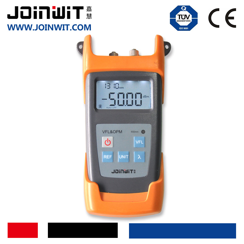 JOINWIT,JW3223,measuring optical power and finding fiber faults,handheld fibre test equipment