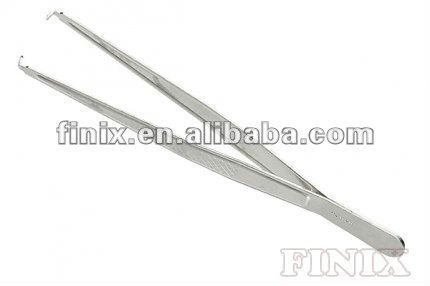 Disposable Metal Mouse Teeth Tissue Forceps