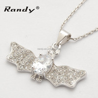 latest design beads necklace pendants white gold wholesale necklace for women