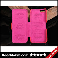 Book Style Mobile Phone Flip Leather Case for iphone 5 5S Mobile Phone Bags & Cases