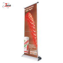 Electronic Double sided standing scrolling roll up banner stand
