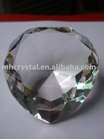 Clear crystal heart shape diamond MH-9099