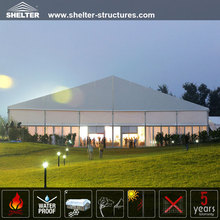 white fabric PVC cover wedding tent for sale