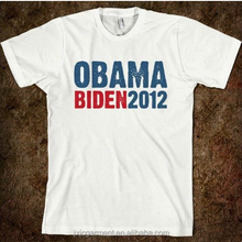 2015 Campaign Cotton Printed T Shirt / T-shirt ,100% polyester Cotton Election Campaign Vote T Shirt With Printing