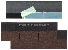 3-Tab Asphalt roofing Shingle (Color: Autumn Brown )