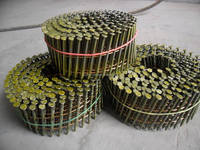 Coil nails for pallets prices, screw pallet coil nails with zinc coating