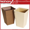 Naham Great Quality Square Paper Waste Bin Trash Can