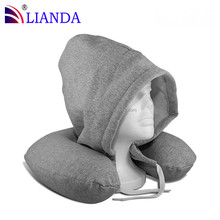 Memory Foam Foldable memory foam travel pillow With Portable Bag