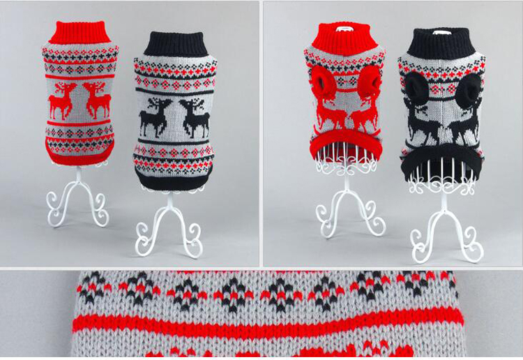 luxury custom couture knitwear for small dogs