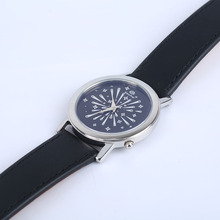 2017 unique original diamante ultrathin watches made in china with leather strap