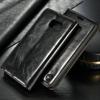 2016 Christmas Sales Promotion Flip Cover Leather Case For Samsung Galaxy Note 5