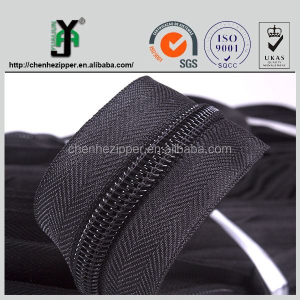 heavy duty big teeth strong nylon zipper 15# 20# nylon zipper