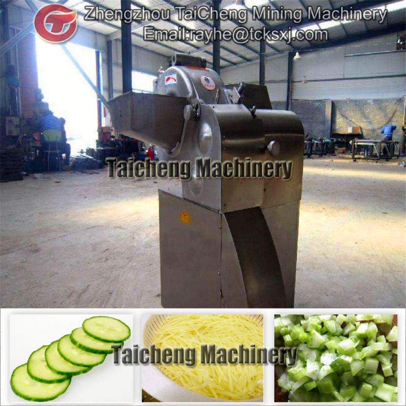 industrial vegetable cutting machine product line