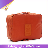 Simple fashion 600D polyester unisex Toiletry Bag for travel