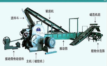 Waste Tire Recycling Line Equipment (semi-automatic)