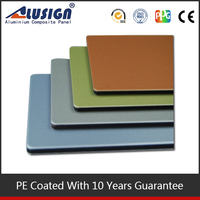 Alusign finely processed aluminum sheet finishes