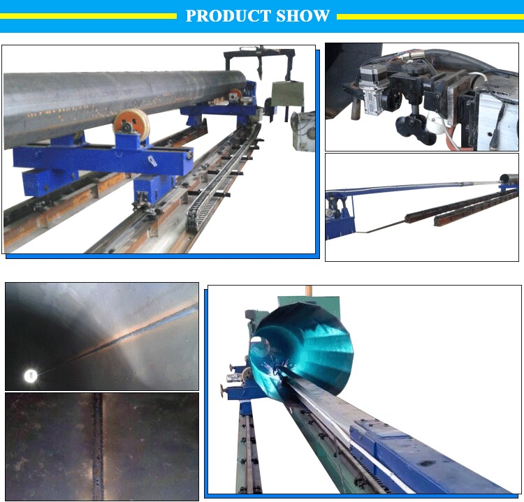 Chinese suppliers internal straight longitudinal seam welding machine