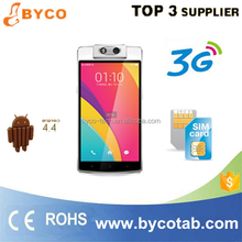 High quality chinese 8.0mp rotatable camera 5.5 inch androd phone