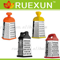 stainless steel 6 side vegetable grater, kitchen grater as seen on tv