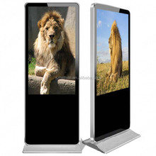 "46""high definition standing 1080p digital signage with advertising player software"