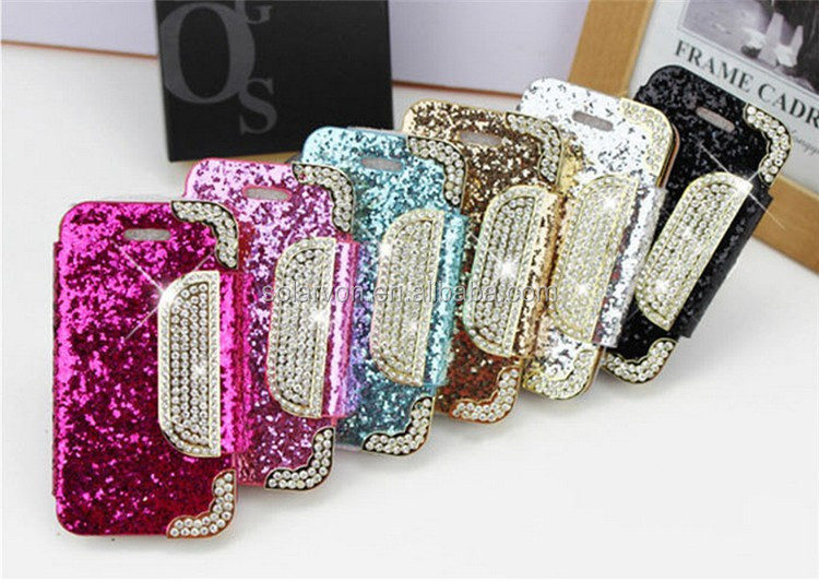 2015 fashion 3D holster silicone case belt clip+stand for iphone 5