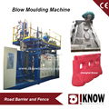 Plastic block barrier blow molding machine