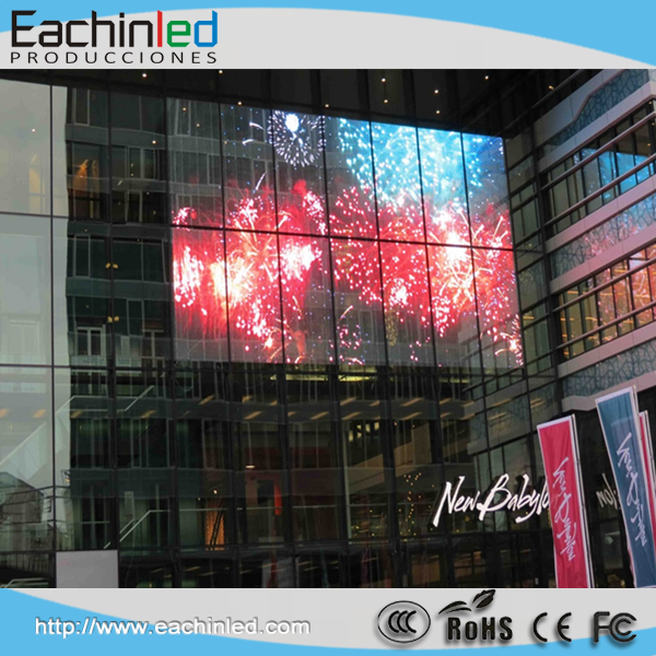 Transparent LED Display Glass Wall Window Transparent LED Video Screen