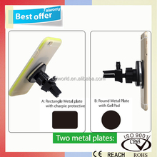 2016 adjustable magnetic air vent mount car clips holder