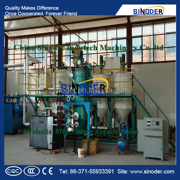 China supply 100TPD soybean oil refinery ,cooking oil refinery plant ,oil refinery plant sale in USA, Argentina,Brazil