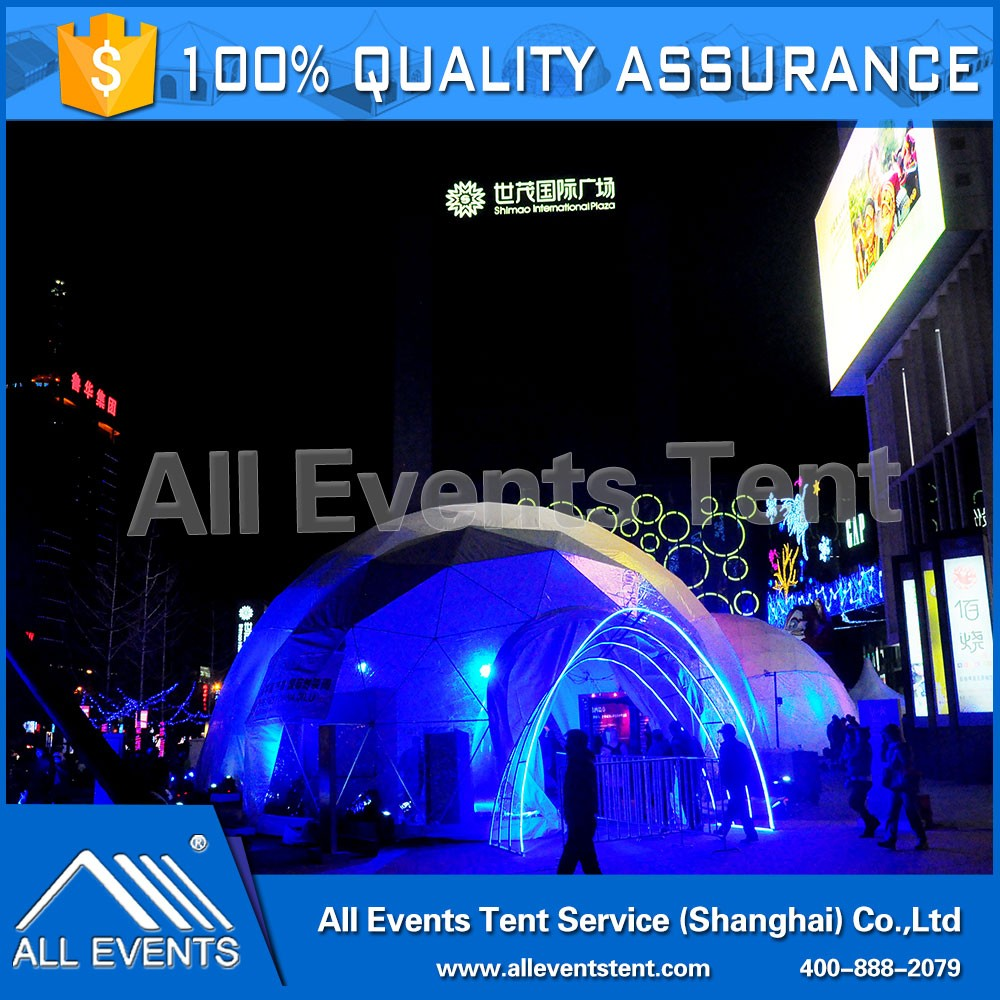 Steel Structure Big dome tent for Events