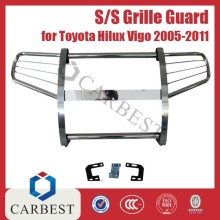 High Quality S/S Grille Guard for Toyota Front Grille Guard Hilux Vigo 2011
