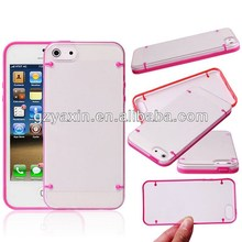 Newest factory unique pc+tpu case for iphone 5c