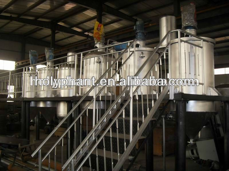 Widely Used edible veg. oil refinery production line