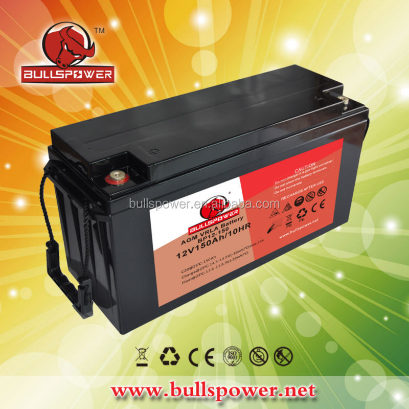 Attractive HBL lead acid battery / charger 12v 150ah