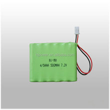 7.2v nimh rechargeable batteries 1500mah ni-mh battery CE approved