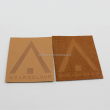 Custom Design Garment Accessories Embossed Leather Patch