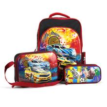 2017 new arrival boy's fashion school bag set 3D drawing