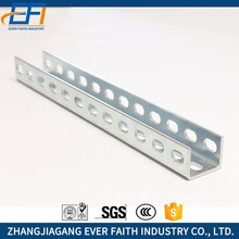 China Manufacturer Slotted Low Price U Channel Steel Dimensions