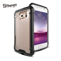 Transparent pc tpu phone case with china phone case manufacturer