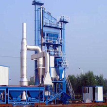 Building machine 64t/h stationary hot mix asphalt batching plant on sale