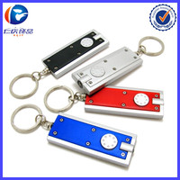 Low Price Key Holder Promotion LED Torch Light Keychain