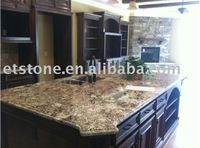 Yellow Prefab Granite Countertop