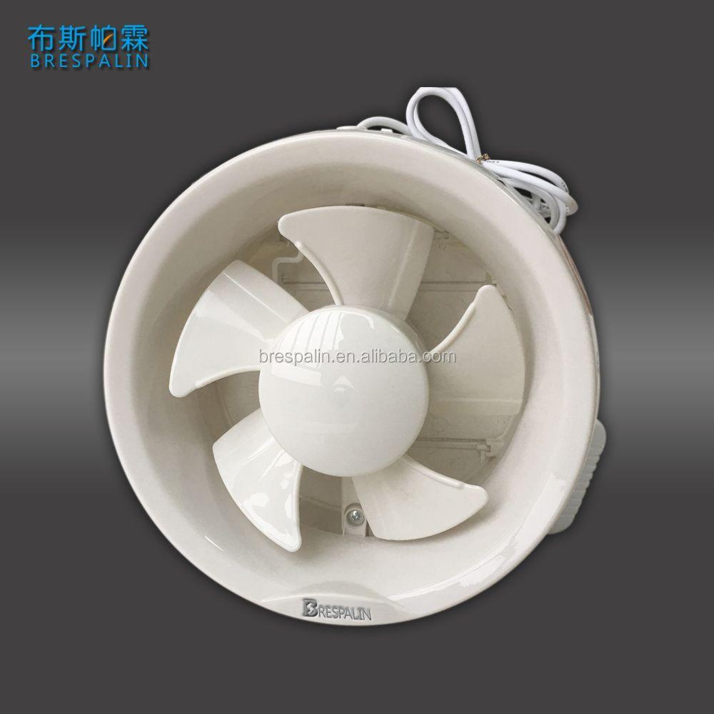 Bathroom Window Mounted Circular Exhaust Fan Ventilator Glass Fan - Circular bathroom exhaust fan